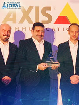 2017 Best Executed Retail Project Award by Axis Communication